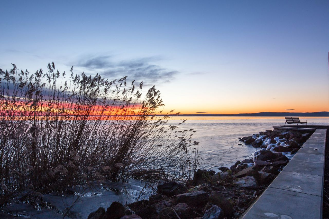 Napkelte előtt-Tihany