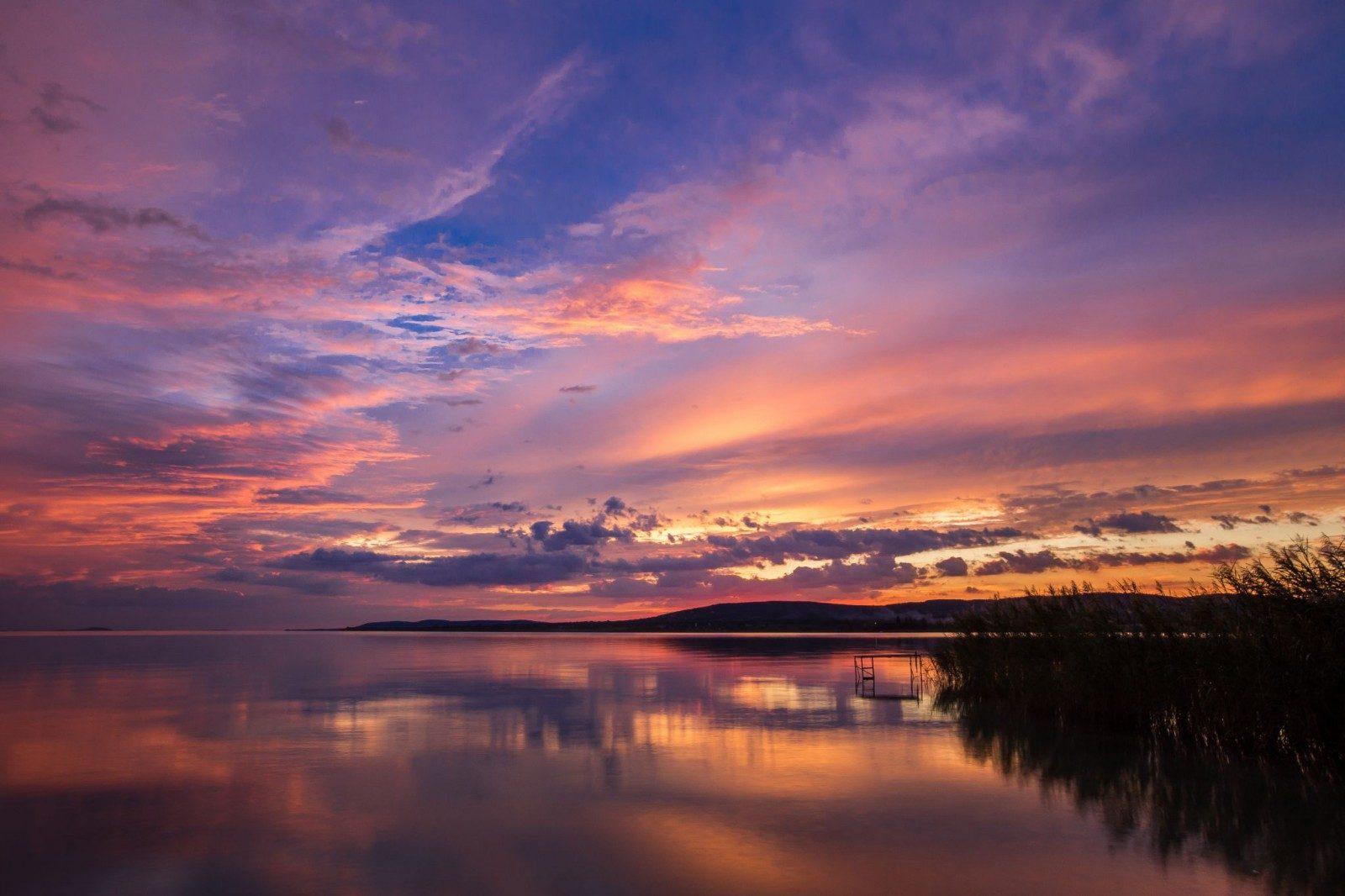 IMG_0331-Színekkel teli estén-naplemente-Tihany-Sajkod